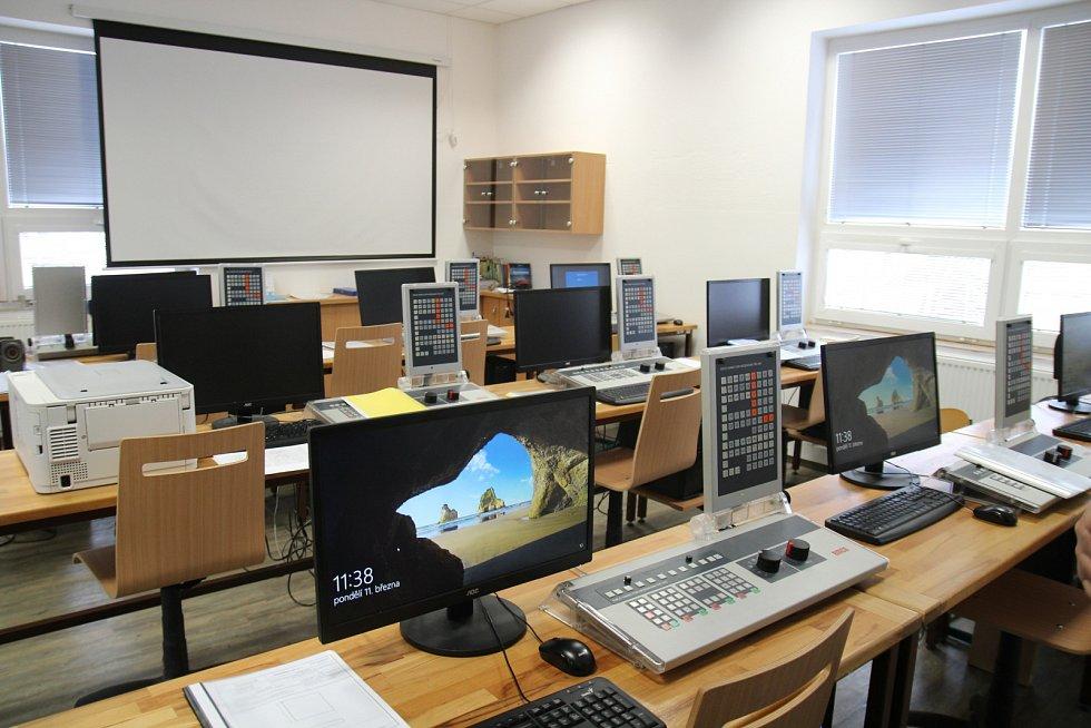 VOŠ, OA a SOUT Chotěboř z dotací MMR vybudovalo centrum moderních technologií pro výuku strojírenských oborů