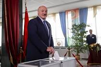 Alexandr Lukašenko u voleb