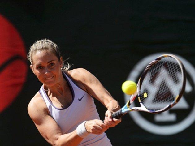 Česká tenistka Klára Zakopalová.