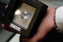 V současnosti největší diamant ve střední Evropě o velikosti 50,25 karátu v hodnotě kolem 14 milionů dolarů (asi 282 milionů korun) si mohli novináři prohlédnout na výstavě, která byla otevřena 14. listopadu v Praze.