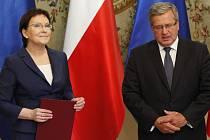 Polská premiérka Ewa Kopaczová dnes představila nový kabinet.
