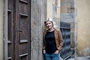 Herečka Jitka Ježková poskytla 25. října v Praze rozhovor Deníku.