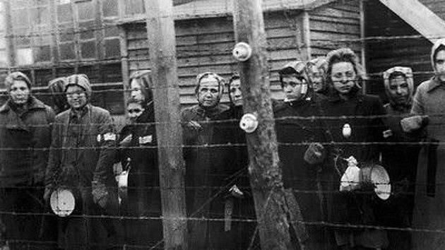 Ženy v koncentračním táboře Ravensbrück