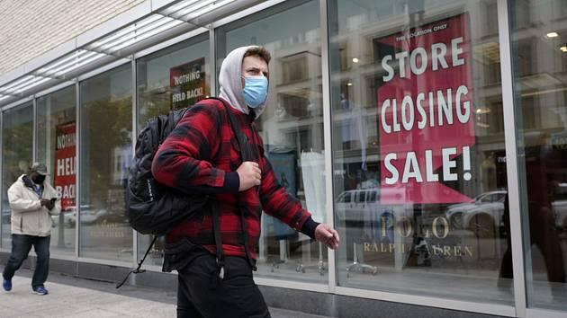 Uzavřený obchod v Bostonu