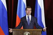 Ruský prezident Dmitrij Medveděv
