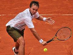 Ivo Minář skončil v Paříži na raketě Andy Roddicka z USA.