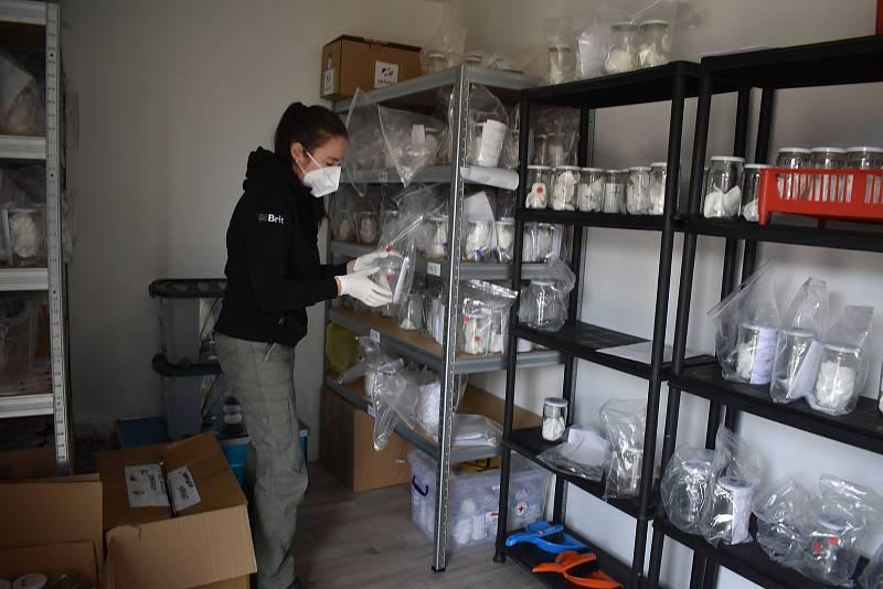 Vzorky získává výzkumný tým z několika českých nemocnic. Každý vzorek je možné využít jen jednou.