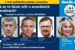 Unikátní debata Deníku s Andrejem Babišem, Ivanem Bartošem a Petrem Fialou. Tentokrát na téma školství.