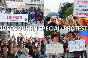 Videosouhrn speciál – demonstrace za nezávislou justici