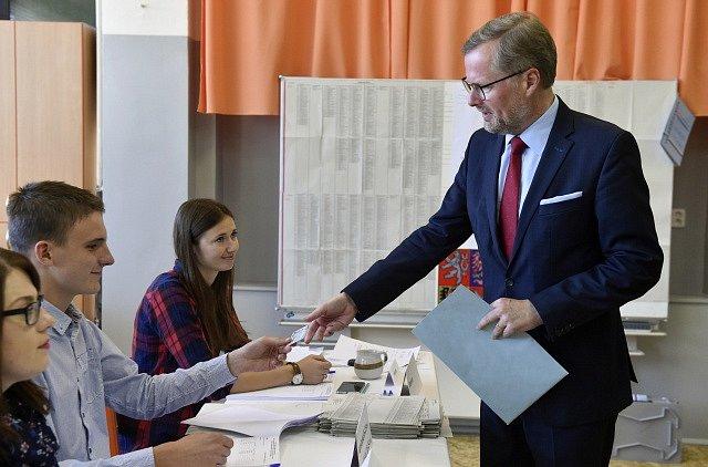 Předseda ODS Petr Fiala odvolil v komunálních volbách v Brně.