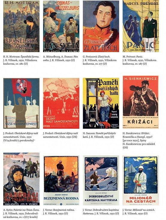 Knihy s ilustracemi Zdeňka Buriana