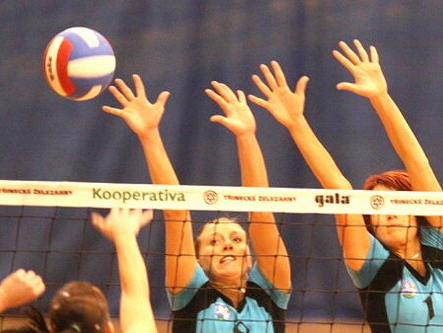 Volejbalové utkání žen. Ilustrační snímek.