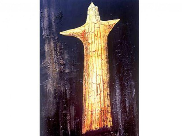 Václav Kocum, malíř Jizerských hor, vystavuje od 1. září své obrazy v kostele Dr. Farského.