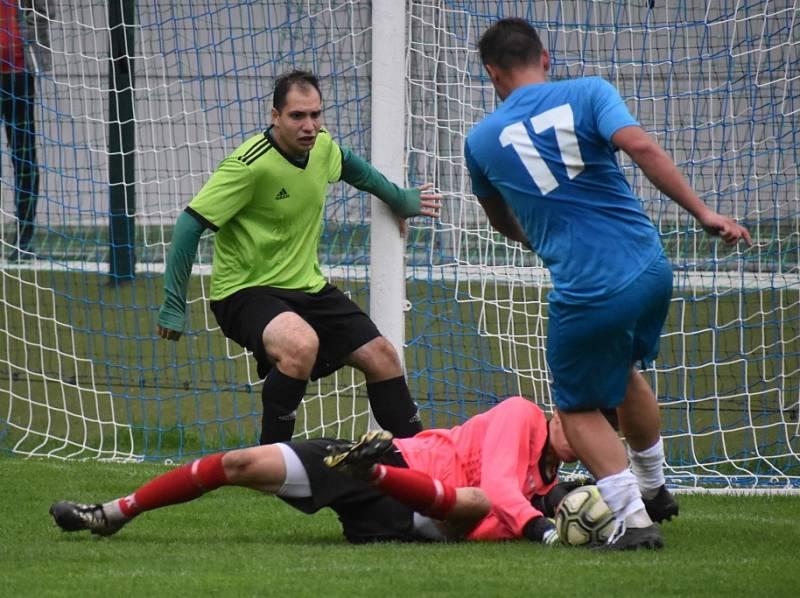 Bez branek. Železný Brod doma remizoval s FK Sedmihorky 0:0.
