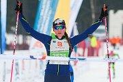 Závod v klasickém lyžování, ČT Jizerská 10, proběhl 17. února v Bedřichově na Jablonecku v rámci série závodů Jizerské padesátky. Hlavní závod na 50 kilometrů zařazený do seriálu dálkových běhů Ski Classics se pojede 18. února 2018. Na snímku je vítězka T