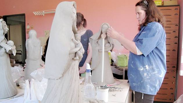Na workshopu se zrodily Panny Marie