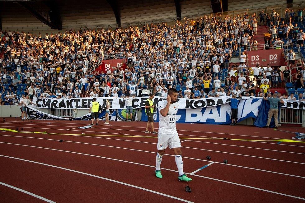 Utkání 1. kola první fotbalové ligy: Baník Ostrava - FK Jablonec, 23. července 2018 v Ostravě. Milan Baroš.