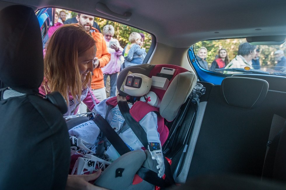 Matylda nasedla do prvního auta