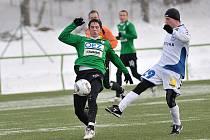 Na umělé trávě v Jablonci-Mšeně se regionální rivalové rozešli smírně. Jablonec vs Liberec 1:1.