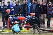 Ilustrační foto ze závodu hasičských nadějí Soptík, který se konal v Jablonci v polovině září.