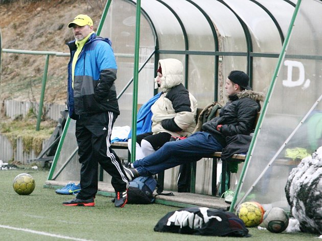 Z tréninku fotbalistů Mšeno B