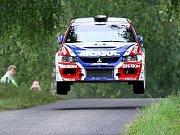 Rally Bohemia 2010 - super RZ Sosnová.