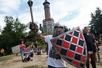 Historický víkend na rozhledně Štěpánka u Kořenova