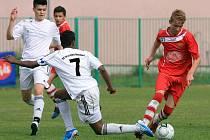 Ve finále hráčů do 17 let vyhrál německý tým SC Fortuna Köln (v červeném).