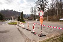 Na Malé Skále uzavřeli velká i malá parkoviště.
