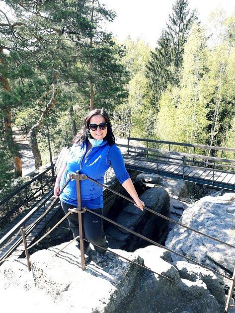 Monika Králová miluje turistiku.