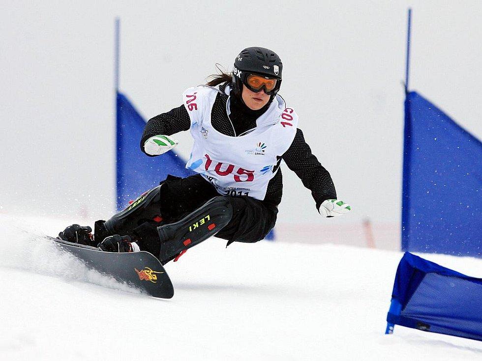 105 LOCH Cheyenne (GER) – v závodě skončila na třetím místě. Obří slalom na snowboardu na evropské olympiádě mládeže EYOWF 2011 v Rejdicích.