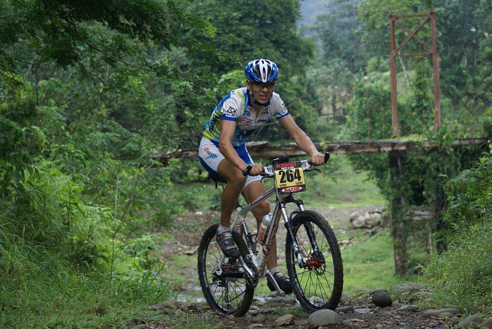 Extrémní biker Jan Kopka