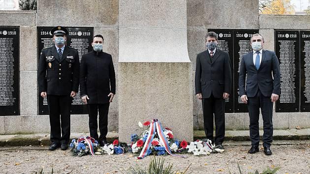 Výročí vzniku ČSR v Jablonci nad Nisou.