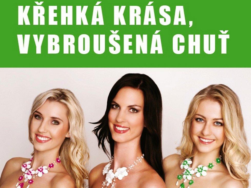 Vítězky soutěže krásy MISS Liberec Open 2012, Andrea Kolářová, Natálie Kotková a Klára Kabátková podpořily akci Křehká krása, vybroušená chuť, kterou pořádá Liberecký kraj se svými partnery, a staly se jejími patronkami.