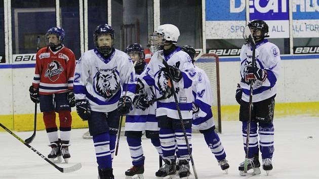 Mladí Vlci se nenudí. Mají za sebou další tři turnaje. A někteří se zúčastnili také hokejového kempu.