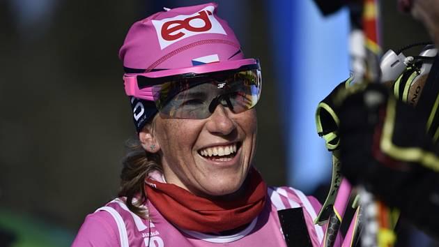 Česká běžkyně na lyžích Kateřina Smutná skončila pátá.