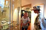 Muzejní noc spapírem v Muzeu skla a bižuterie v Jablonci nad Nisou v roce 2011.