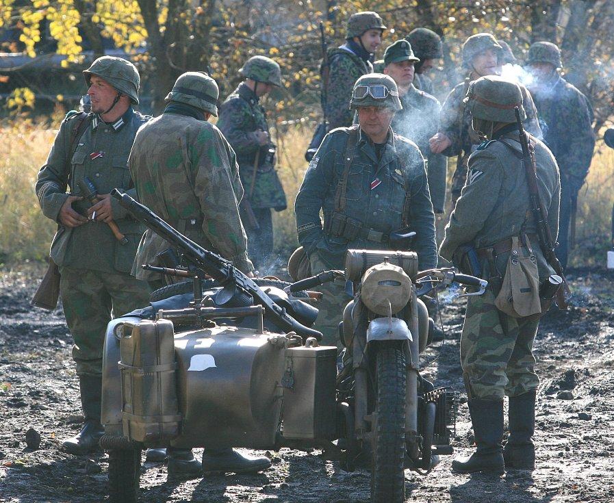 Ukázka bitvy s názvem Partyzánské Bělorusko, 2011.