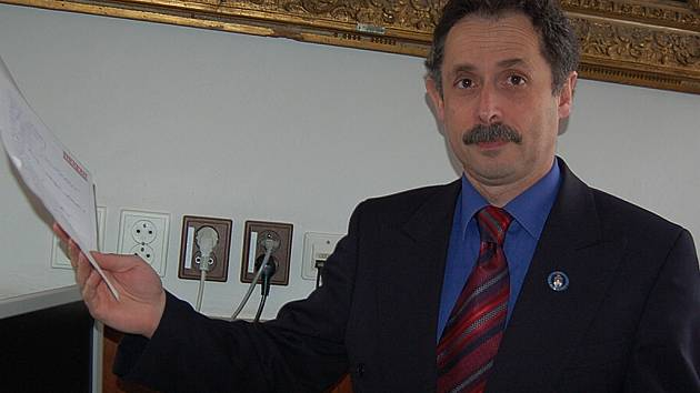 Železnobrodský starosta Václav Horáček.