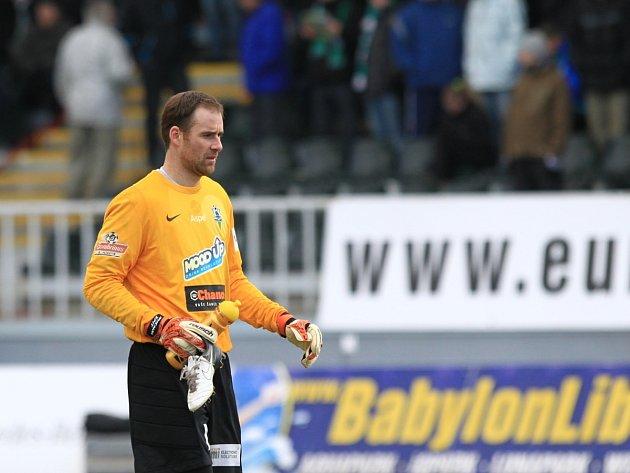 Brankář Jablonce Michal Špit byl krůček od nuly s pořadovým číslem 98.