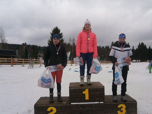 lyžařské závody na Bedřichově