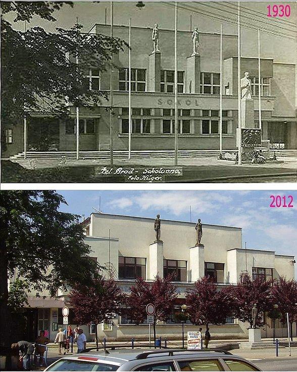 Historické fotografie Železného Brodu.