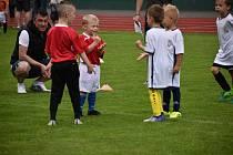 Turnaj pro kategorii předpřípravek z celého jabloneckého okresu připravili pořadatelé z Fotbalové akademie Jablonec.