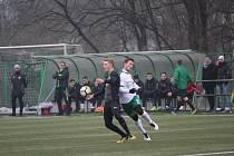 V přípravném zápase podlehli hráči Velkých Hamrů prvoligovému Jablonci 1:4. Za svůj výkon a ani za výsledek se ale nemuseli stydět.
