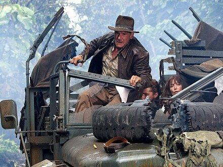 Indiana Jones a království křišťálové lebky. Velkolepý návrat nejslavnějšího archeologa všech dob.