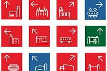 Tak by mohly vypadat ikony navigačního systému