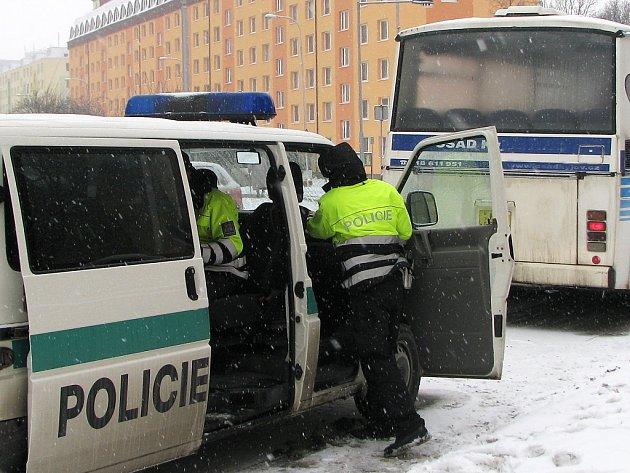 Nehoda autobusu. Ilustrační snímek.