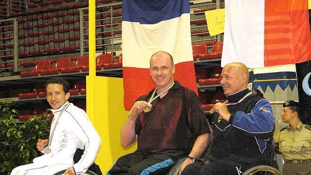 Handicapovaní stolní tenisté soutěžili na mistrovství Evropy v italském Janově. René Tauš se stal mistrem Evropy.