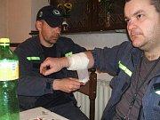 Sbor dobrovolných hasičů Janov nad Nisou. První pomoc.
