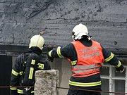Sbor dobrovolných hasičů Janov nad Nisou. Požár chalupy v Horním Maxově.